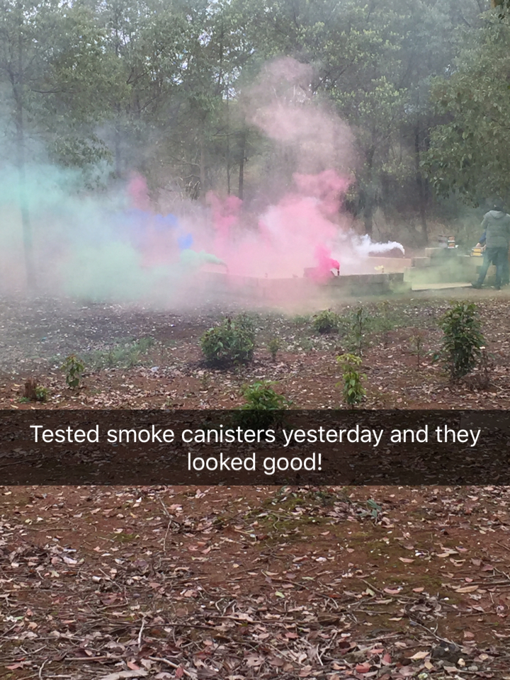 Smoke Canisters
