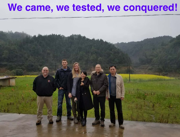 We came we tested we conquered